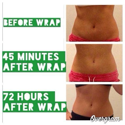 Slim And Detox Wraps by At Home Wrap Easy To Apply Lasting Results Not