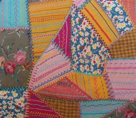 Patchwork Stitches - patchwork janet haigh work