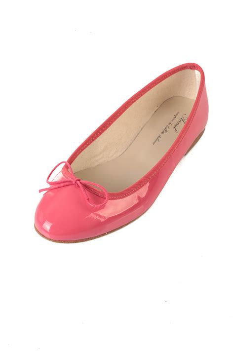 anniel bright pink ballerinas from pigalle by vanina