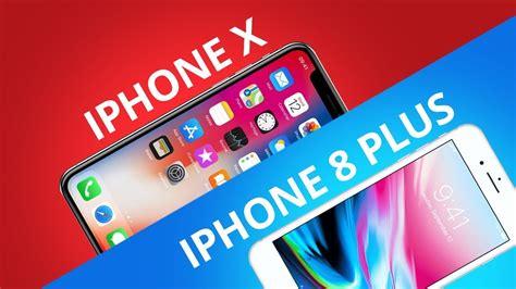 iphone x vs iphone 8 plus comparativo