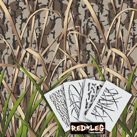 camo stencils for boats pin styx river duck boat camo stencil kit at mackspwcom on