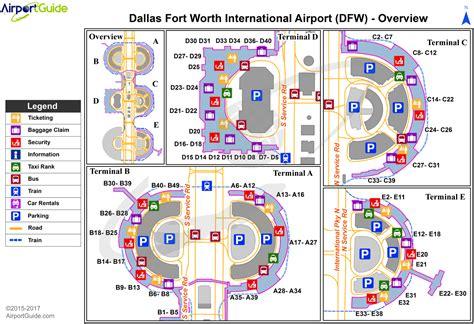 dfw airport map dallas fort worth dallas fort worth international dfw