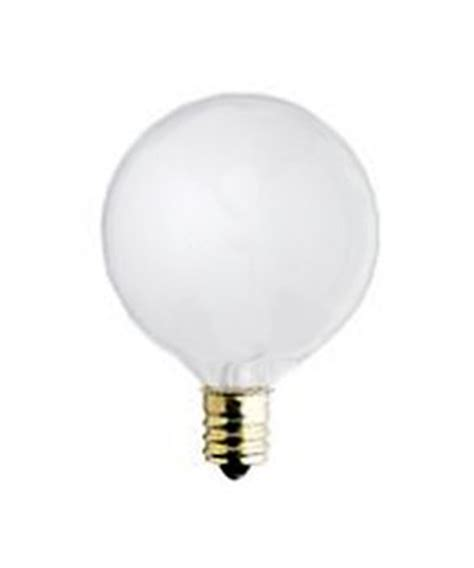 40 watt g 16 1 2 globe decorative light bulb white