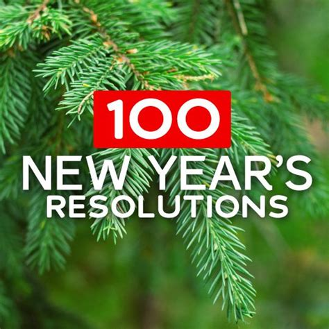 100 new years resolutions resources to help stick with it