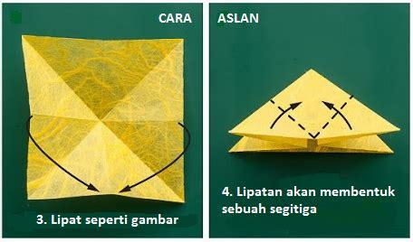 Tutorial Origami Kupu Kupu - tutorial origami kupu kupu cara membuat origami kupu kupu