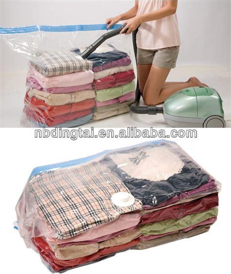 cube vacuum plastic bag clothing compression bag space