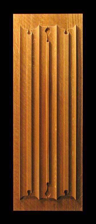 linenfold carved panel
