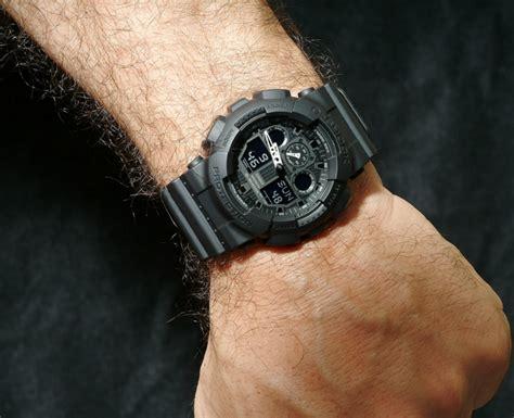 Casio G Shock Ga100 casio men s g shock ga100 1a1 black review