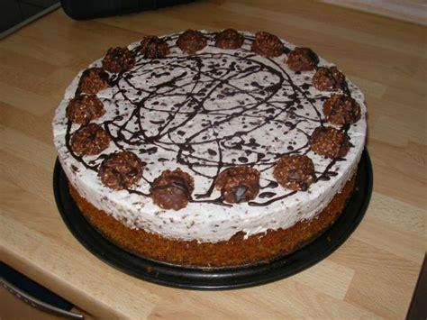 dr oetker wolke kuchen selber machen ferrero rocher torte rezept essen und trinken