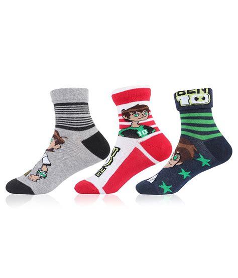 Sock Ben10 ben10 saverpack socks pack of 3 pairs 3 5 years buy