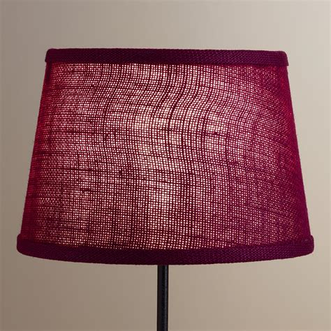 world market l shades wine burlap accent l shade world market