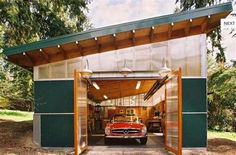 Backyard Workshop Designs by Votre Garage Ou Atelier Pour Votre Ancienne Ador 233 E