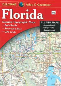 atlas map of florida themapstore delorme florida atlas gazetteer