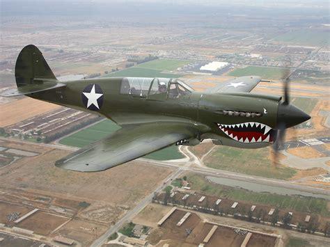 wwii curtis p40 warhawk fighter american propeller fighter wallpaper