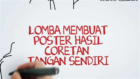 desain poster kreatif poster competition lomba poster sgts 7 2013 youtube