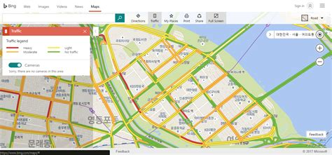 driving directions on map 10원 tips maps shows korean traffic congestion in
