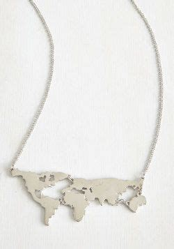 World Map Statement Necklace best 25 world necklace ideas on map necklace