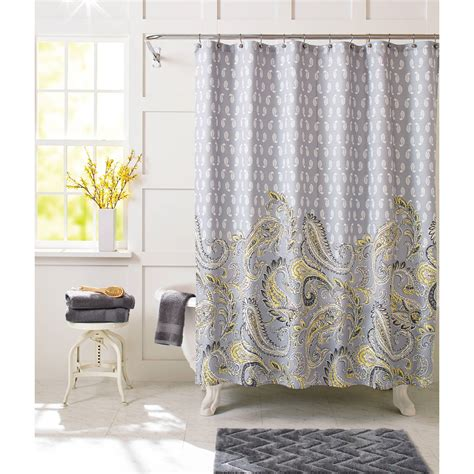 Standard Size Shower Curtain by Standard Length Of Curtains Walmart Shower Curtain