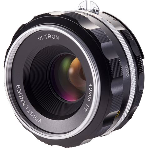 Voigtlander Nikon voigtlander ultron 40mm f 2 sl iis aspherical lens ba229j b h