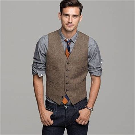 Best 25  Men's vest fashion ideas on Pinterest   Men's