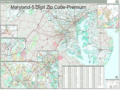 Md Search Codes Md Zip Code Map Laminatoff