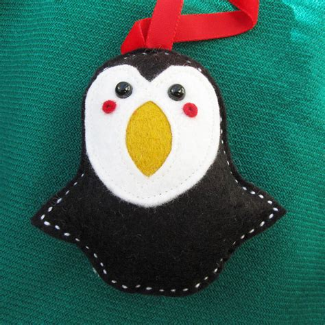 Penguin Decorations by Three Percival Penguin Decorations By