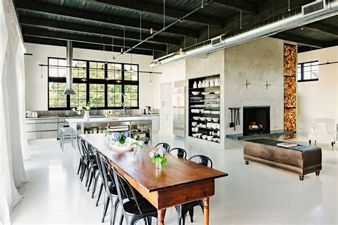 industrial style homes 30 ways to create a trendy industrial dining room