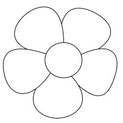 free printable flower templates