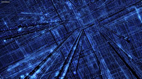 wallpaper blue art abstract binary blue digital art matrix