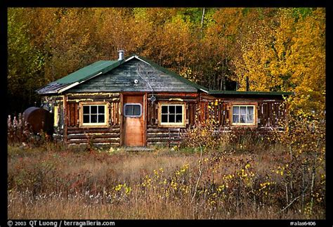 Usa Cabin by Picture Photo Wooden Cabin Alaska Usa