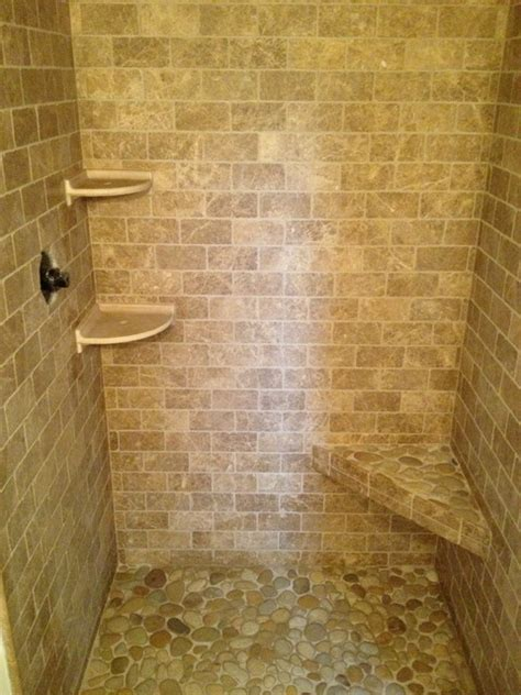 river rock shower traditional bathroom boston by bathroom shower stone contemporary bathroom boston
