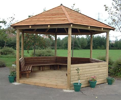 Landscape Timber Hexagon Bespoke Hexagonal And Octagonal Timber Wooden Gazebos