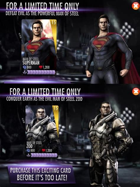 injustice challenge characters injustice mobile elseworld flash challenge updated
