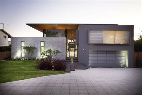 modern house design australia concrete house architecture magazine