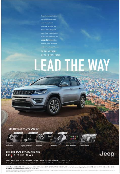 jeep ads jeep compass lead the way ad advert gallery