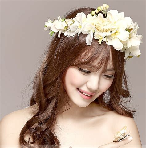 Kalung Fashion Korean Style Flower Bunga flower reviews shopping flower