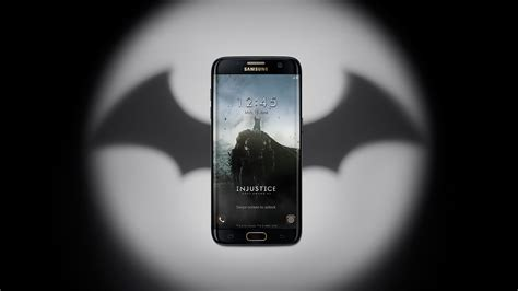 Batman Grunge Logo Samsung Galaxy S7 Edge Custom galaxy s7 edge injustice edition includes gear vr and us 100 of in credits gameaxis
