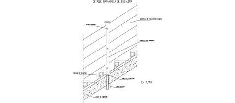 barandilla norma bloques autocad gratis seguridad y salud en obras
