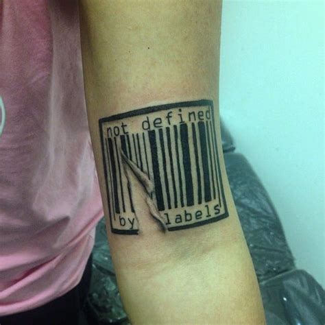barcode tattoo designs barcode arm design creativefan