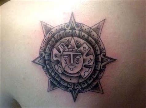 Flower Tattoo Designs Aztec Tattoos Aztec Sun Tattoos Designs