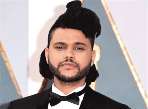 the weekends new haircut get the exclusive details on the weeknd s new haircut pic