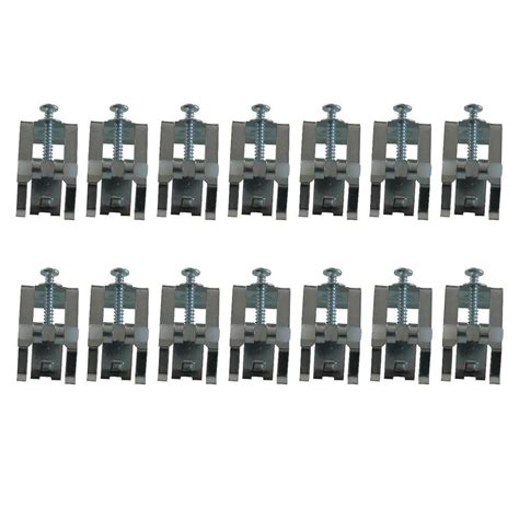 bathtub mounting clips culinaire mounting clip kit 14 pack 790772 0070a the