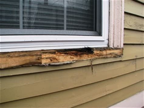 Rotten Window Sill Ongoing Projects Crossworks Carpentry Portland Maine