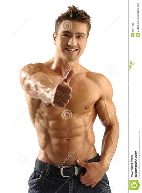 muscular man 31401 muscleman lizenzfreie stockfotos bild 16967688