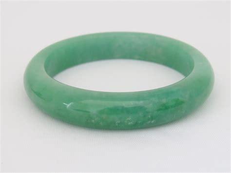 Jade Bangle vintage green jade jadeite bangle bracelet 61mm