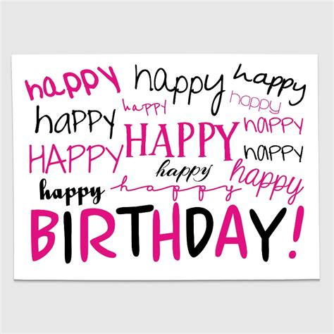 blackpink birthday happy birthday postcard pink black