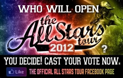 Vote For The Travvies by Vote For The Opening Band For The All Tour