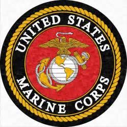 Wool Tufted Rug Buy U S Marines Corps Round Logo Rug Online Rug Rats