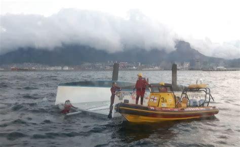 catamaran cape town south africa south africa catamaran capsizes in cape town harbour