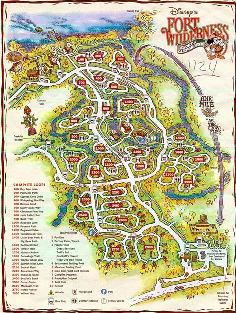 fort wilderness map wdw fort wilderness faq